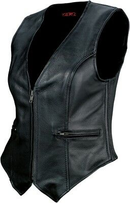 Z1R 44 Women's Leather Vest Powersports Motorcycle