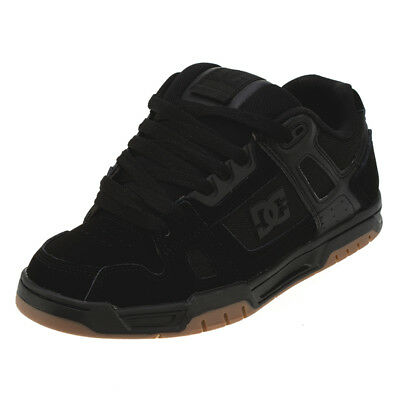 DC Shoes Stag Black/gum Shoes in Black