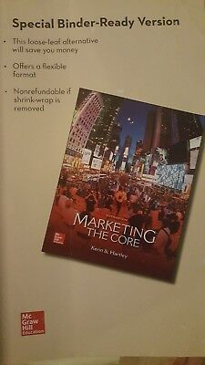 Marketing the core by kerin hartley 6th edition brand new 3999 marketing the core 6th e loose leaf versionbinder version isbn 9780077729035 fandeluxe Images