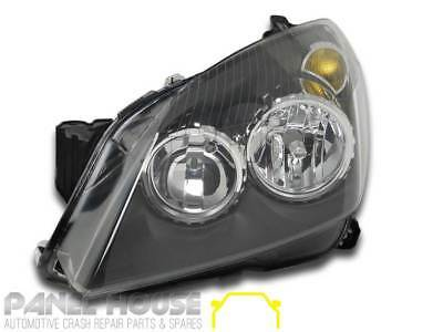 Holden AH Astra '04-'06 Sedan Wagon Hatch LEFT Black Head Light NEW LHS Lamp
