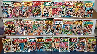 Conan #27-122 Marvel Bronze Age Comic 41pc Lot + King Conan #1 GREAT DEAL