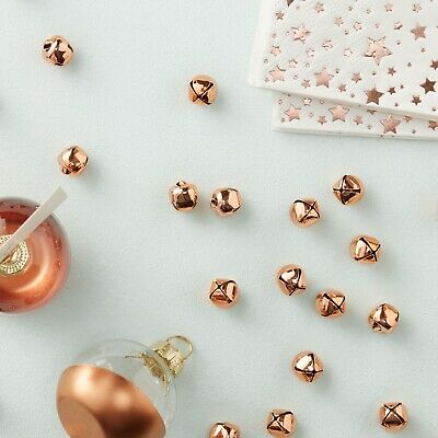 Ginger Ray Rose Gold Mini Bell Christmas Table Confetti - 50 Pack!