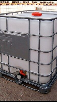 Ibc Tank 1000 Litres FREE DELIVERY water Bowser Water Butt