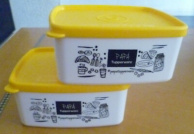 Tupperware Free Shipping New Set 2:  Keeper Container 3 1/2 cups.