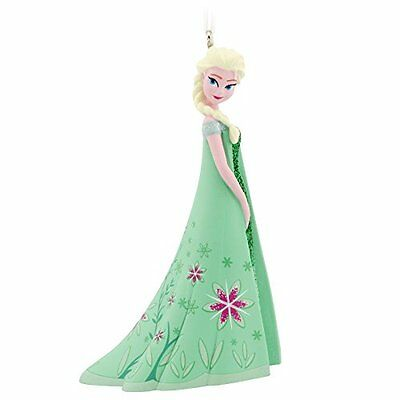 NEW Disney Frozen Elsa Christmas Ornament by Hallmark- Green Dress