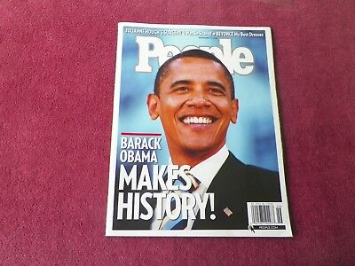 Barak Obama PEOPLE Magazine - Beyonce Knowles also Included!