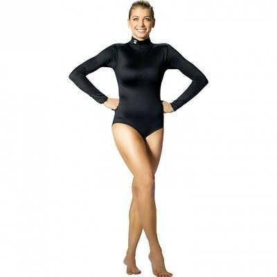 (Medium, Black, MED) - Women's Body Suit. Alleson Athletic. Shipping is Free