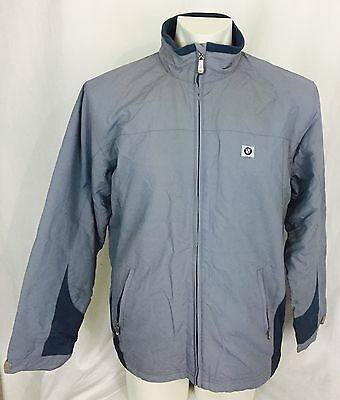 BMW Gray Fleece Lined Jacket. Men's. Medium. NWOT.