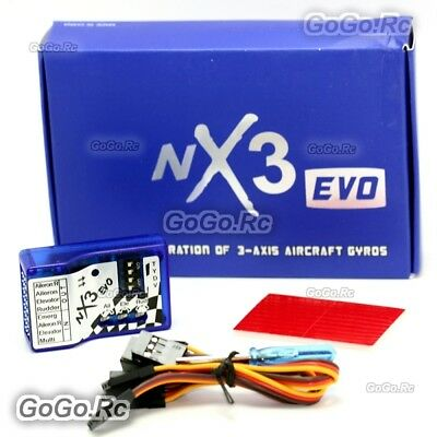 NX3 EVO Fixed-Wing 3-Axis Aircraft Gyro Balancer Flight Controller For RC Plane