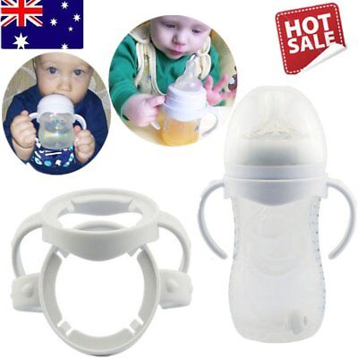 Baby Cup Feeding Bottle Trainer Easy Grip Standard Handles Toddlder Holder GT