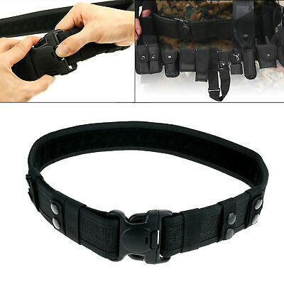 Quick Release Security Army Guard Paramedic Utility Nylon Duty Tactical Belt