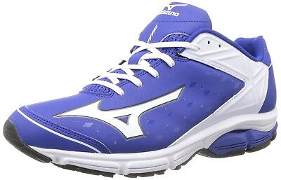 (11.5 D(M) US, Royal/White) - Mizuno Usa Mens Men's Wave Swagger 2 Trainer