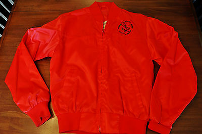 Ely Cattleman Satin Jacket Mesquite Championship Rodeo Mesquite Texas SMALL