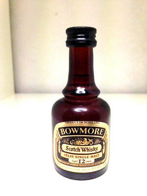 Bowmore 12yo ISLAY Scotch Malt Whisky Miniature 1980's