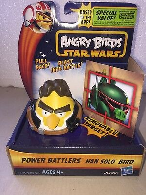 Angry Birds Star Wars Power Battlers Han Solo Bird