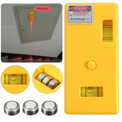 Level Laser Magnetic Right Measure Cross Vertical Line Infrared Measurement New