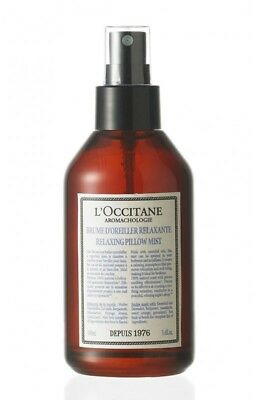 L'occitane Aromachologie Relaxing Pillow Mist 100ml New