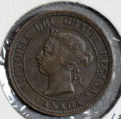 Canada 1890 H Large Cent  CA0238 combine shipping