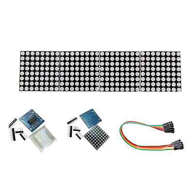 MAX7219 Dot Matrix 8x8 LED Display Male to Female Dupont Wires Solderless
