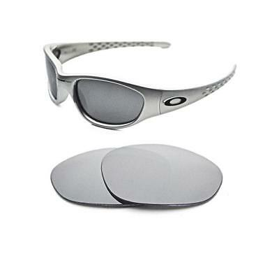 ac25f96f35 New Polarized Silver Ice Replacement Lens For Oakley Vintage Xx Ten  Sunglasses