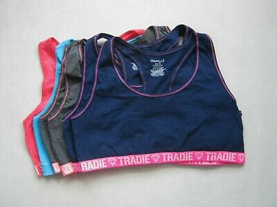 2x  Tradie Lady's  Crop Top Cotton Size  8, 10, 12, 14, 16