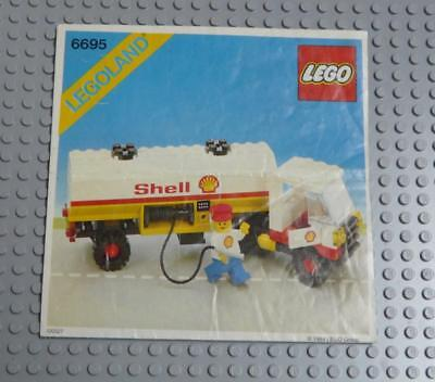 LEGO INSTRUCTIONS MANUAL BOOK ONLY 6695 Shell Tanker x1PC