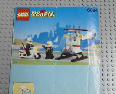 LEGO INSTRUCTIONS MANUAL BOOK ONLY 6664 Chopper Cops x1PC