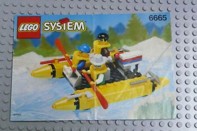 LEGO INSTRUCTIONS MANUAL BOOK ONLY 6665 River Runners x1PC