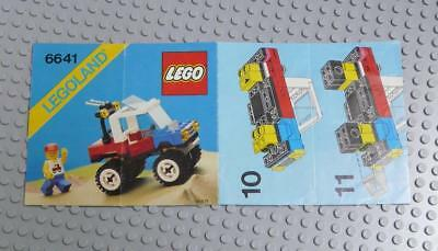 LEGO INSTRUCTIONS MANUAL BOOK ONLY 6641 4-Wheelin' Truck x1PC