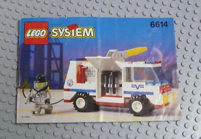 LEGO INSTRUCTIONS MANUAL BOOK ONLY 6614 Launch Evac 1 x1PC