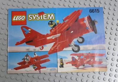 LEGO INSTRUCTIONS MANUAL BOOK ONLY 6615 Eagle Stunt Flyer x1PC