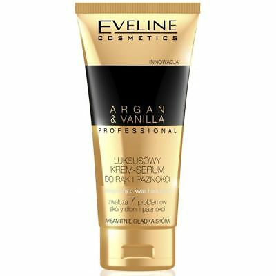 Eveline Professional Luxury Hands & Nails Cream-Serum Argan & Vanilla 100ml