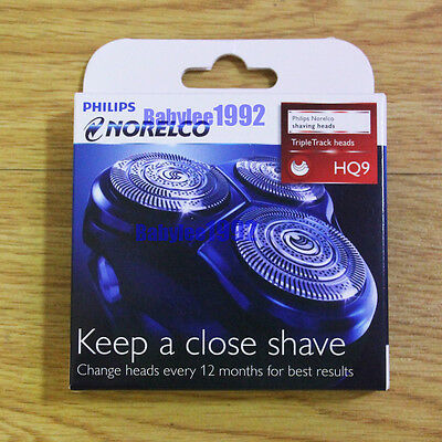 3X Replacement Shaver heads for Philips NORELCO SpeedXL SmartTouchXL HQ9 Razor