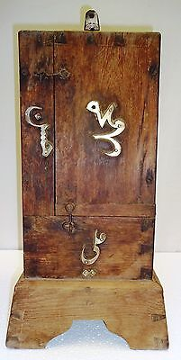 Hunted Antique Islamic Dybbuk Box Wooden Vintage Ghost Jinnat Jin Capture Box