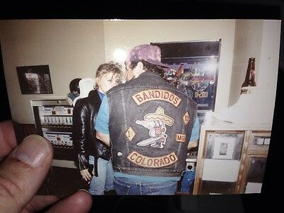 Vintage Photo Bandidos MC Colorado Biker Hells Angels