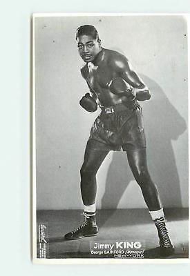 Boxe - Jimmy King - Georges Gainford (Manager) - New-York