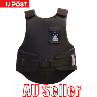 Horse Riding Body Protector Equestrian Eventer Safety Vest Adults Size Gifts  BO