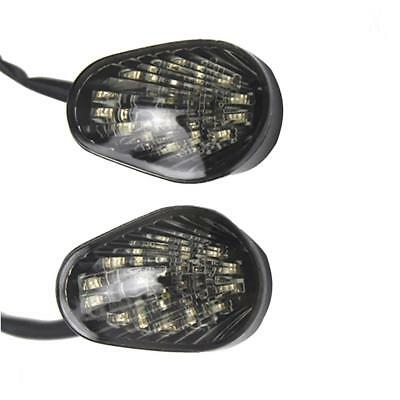 Motorcycle Amber LED Turn Lights Lamp Blinker for Yamaha YZF R1 R6 R6S