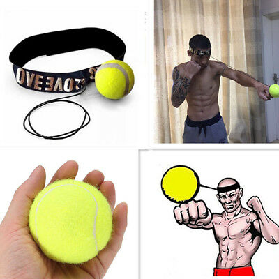 Fight Ball With Head Band For Reflex Speed Training Boxing Boxing Punch Sports