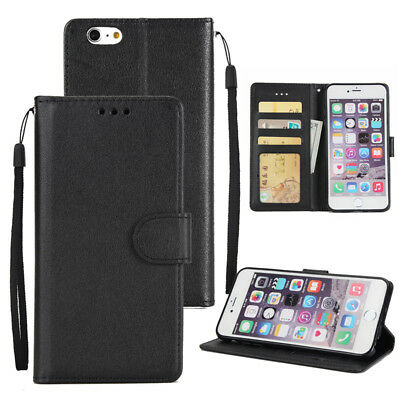 Magnetic PU Leather Shockproof Flip Stand Walet Case Cover for iPhone 6s 7 Plus
