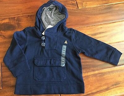 NWT Baby Gap Pullover Navy 12-18 Months