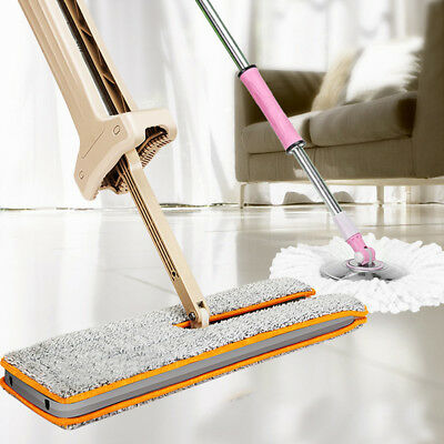 Hurricane Spin Broom Home Office  Use Magic Manual Telescopic Floor Dust Sweeper