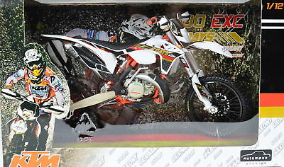 KTM 300 EXC Six Days Germany 2013 Dirt Bike 1:12 Scale