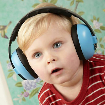 Baby Soft Cushioned Earmuffs Category 4 Rated Hearing Protection Lightweight