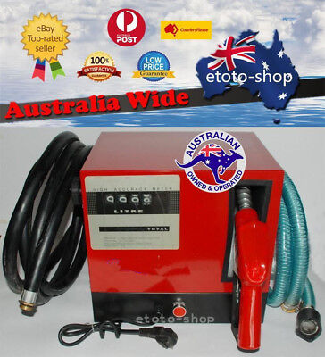 240V Digital Re-fueling Diesel Fuel Transfer Pump Station 60L/min - WARRANTY