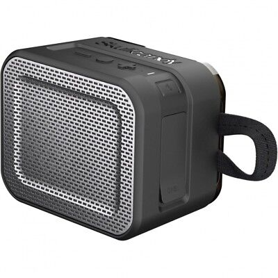 Skullcandy Barricade Portable Bluetooth Speaker - Black/Transparent