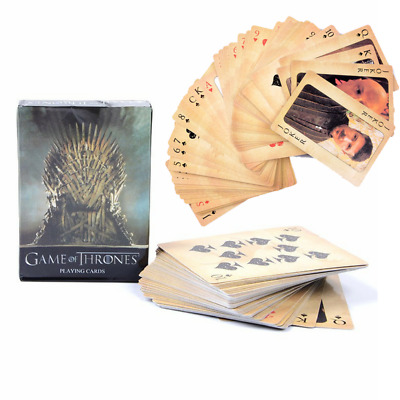 HBO Game of Thrones New Playing Deck Cards Song Of Fire And Ice Poker Set