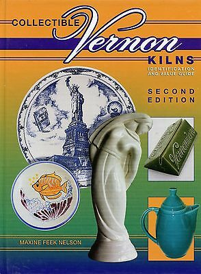 Vernon Kilns Poxon China Pottery - Identification and Values / Illustrated Book