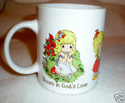"2009 Sweet Precious Moments Mug ""Bloom in Gods Love-Follow His Path"""