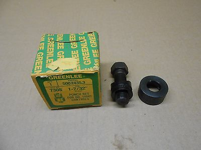 """1 Nib Greenlee 730S 5002435.3 1-7/32"""" Punch Set For Oil Tight Controls"""
